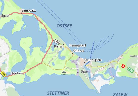 Heringsdorf Map