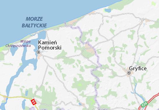 Świerzno Map