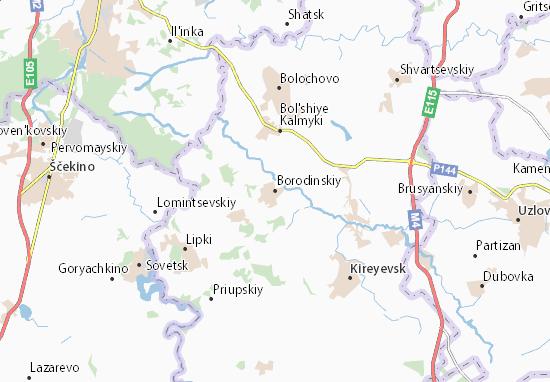 Carte-Plan Borodinskiy