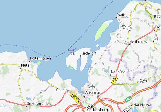 Mapa Plano Kirchdorf
