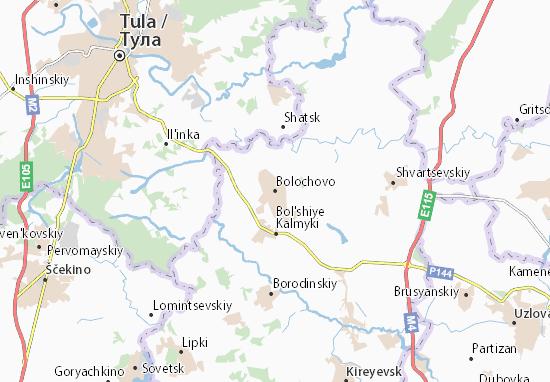 Carte-Plan Bolochovo