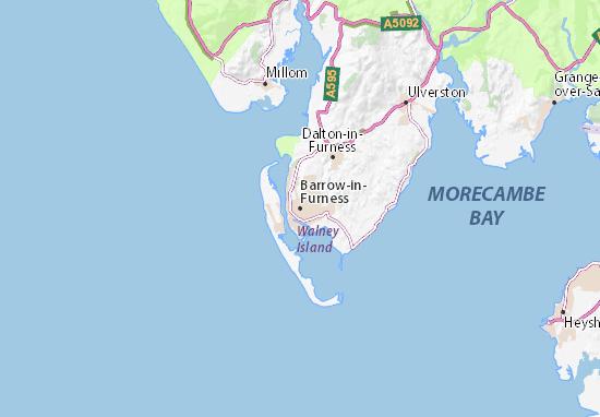 Carte-Plan Barrow-in-Furness