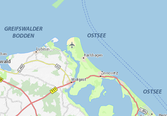 Karlshagen Map