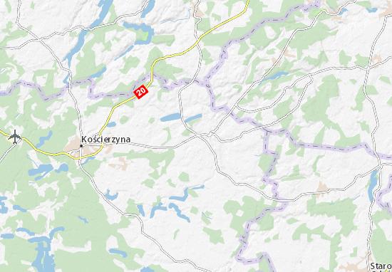 Nowa Karczma Map