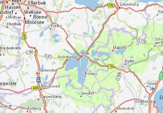 Plön Map