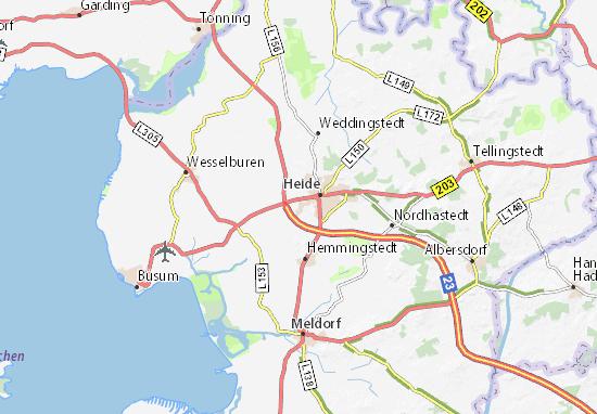 Lohe-Rickelshof Map