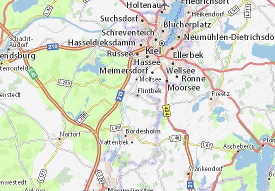 Flintbek Map
