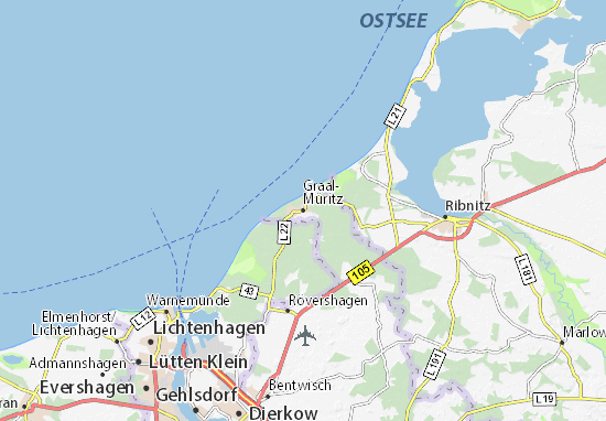 Graal-Müritz Map