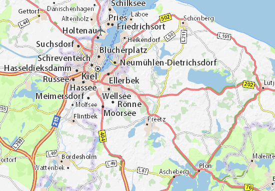 Carte-Plan Raisdorf