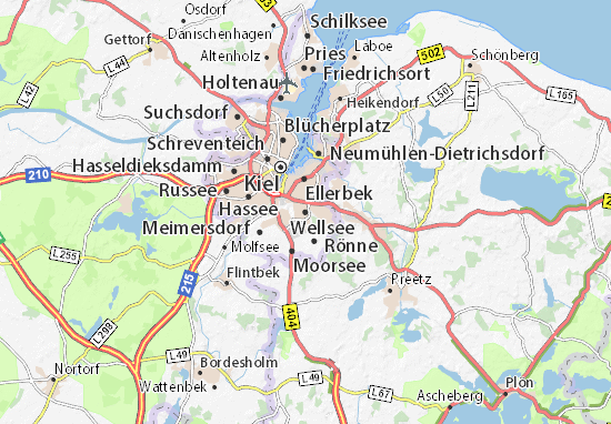 Wellsee Map: Detailed maps for the city of Wellsee - ViaMichelin