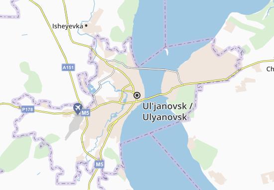 Carte-Plan Ul'janovsk
