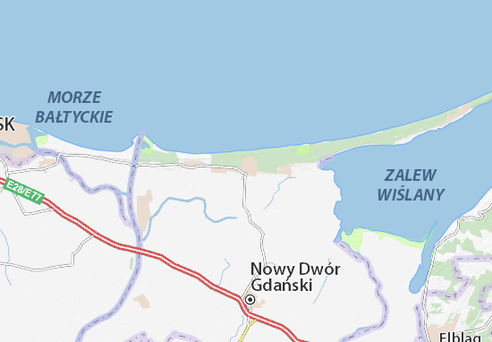 Mapa Stegna