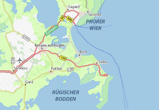 Mapa Plano Binz