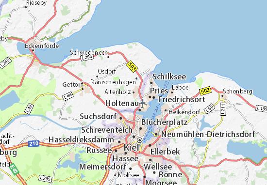 Altenholz Map