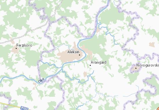 Mapas-Planos Aleksin