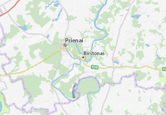 Mapas-Planos Birštonas
