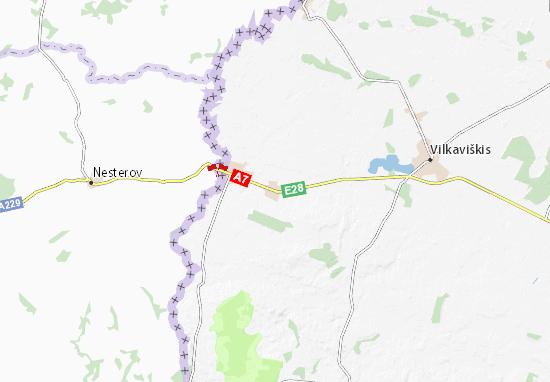 Virbalis Map