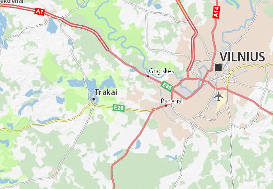 Mappe-Piantine Lentvaris