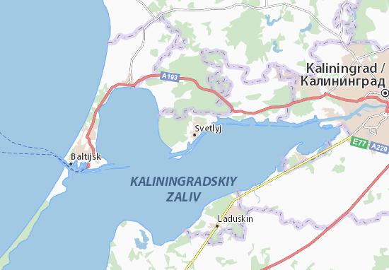 Mapas-Planos Svetlyj