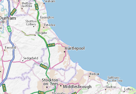 Hartlepool Map