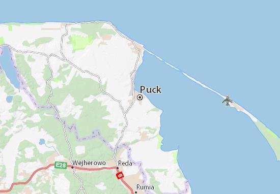 Mapa Puck