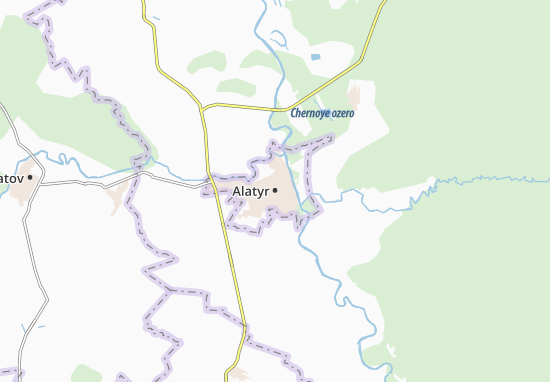 Carte-Plan Alatyr