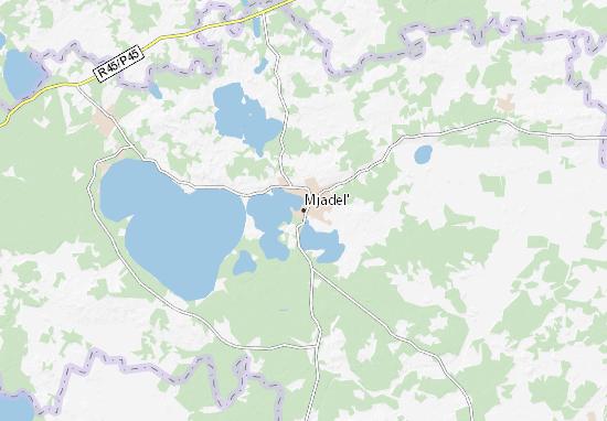 Mjadel' Map