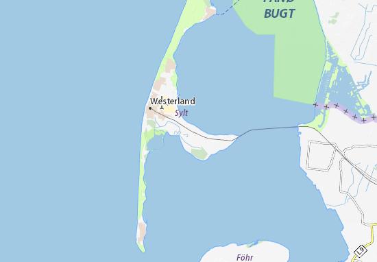 Mappe-Piantine Sylt-Ost