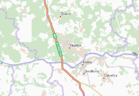 Stupino Map
