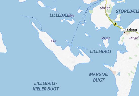 Carte-Plan Ærøskøbing