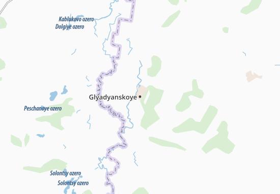 Glyadyanskoye Map