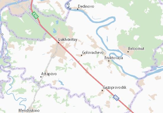 Carte-Plan Golovachevo