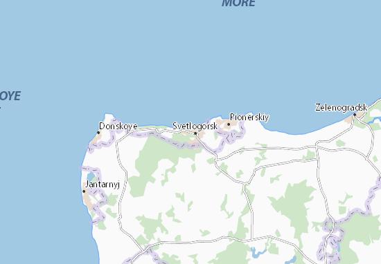 Mapas-Planos Svetlogorsk