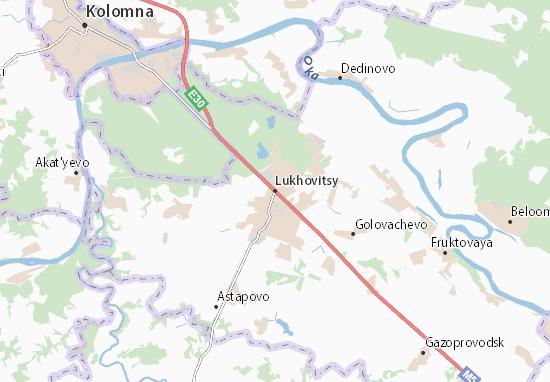 Carte-Plan Lukhovitsy