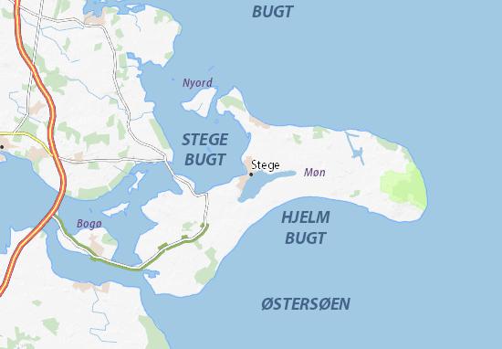 Mapa Plano Stege