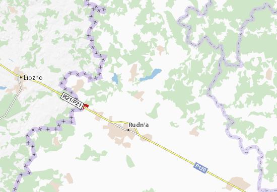 Carte-Plan Perevoloch'ye