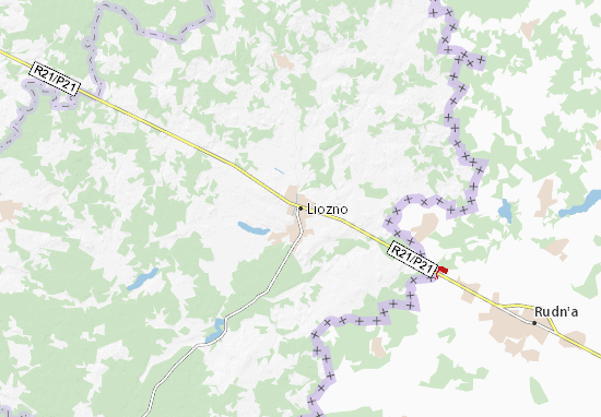 Liozno Map