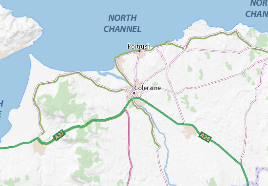 Coleraine Map