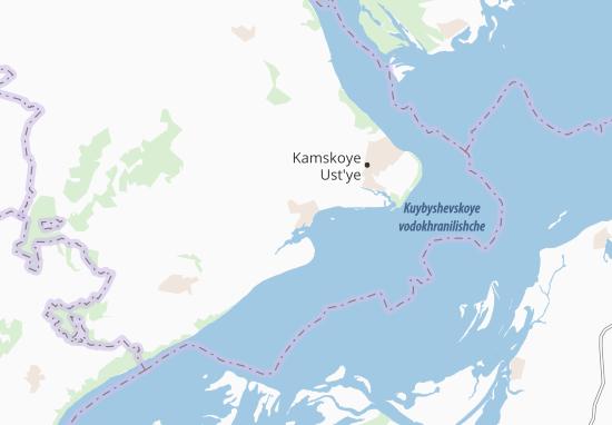 Carte-Plan Kuybyshevskiy Zaton