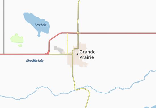Grande Prairie Map
