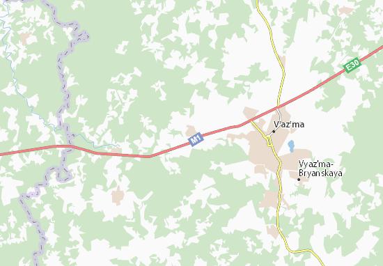 Carte-Plan Otnosovo