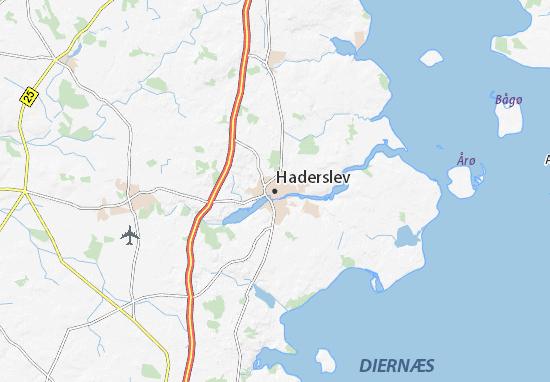 Haderslev Map