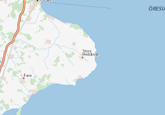 Mapa Plano Store Heddinge