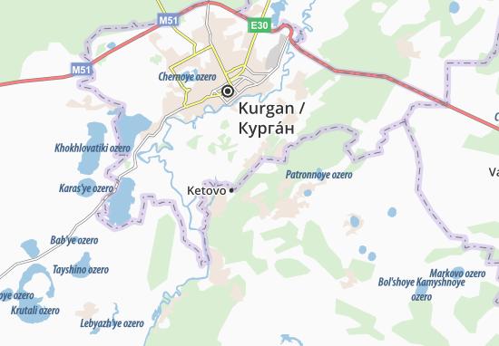 Ketovo Map