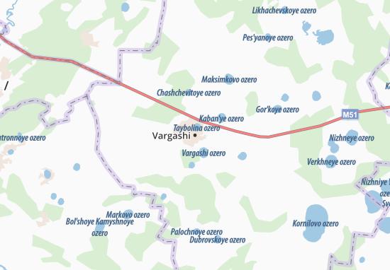 Vargashi Map