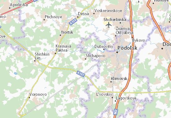Mappe-Piantine Shchapovo