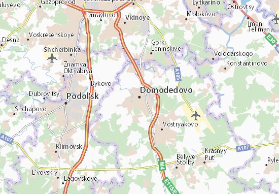 Carte-Plan Domodedovo