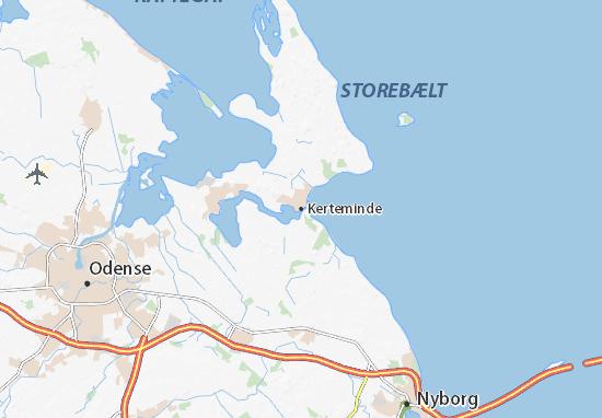 Kerteminde Map