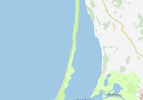 Carte-Plan Neringa