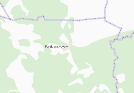 Carte-Plan Partizanskoye